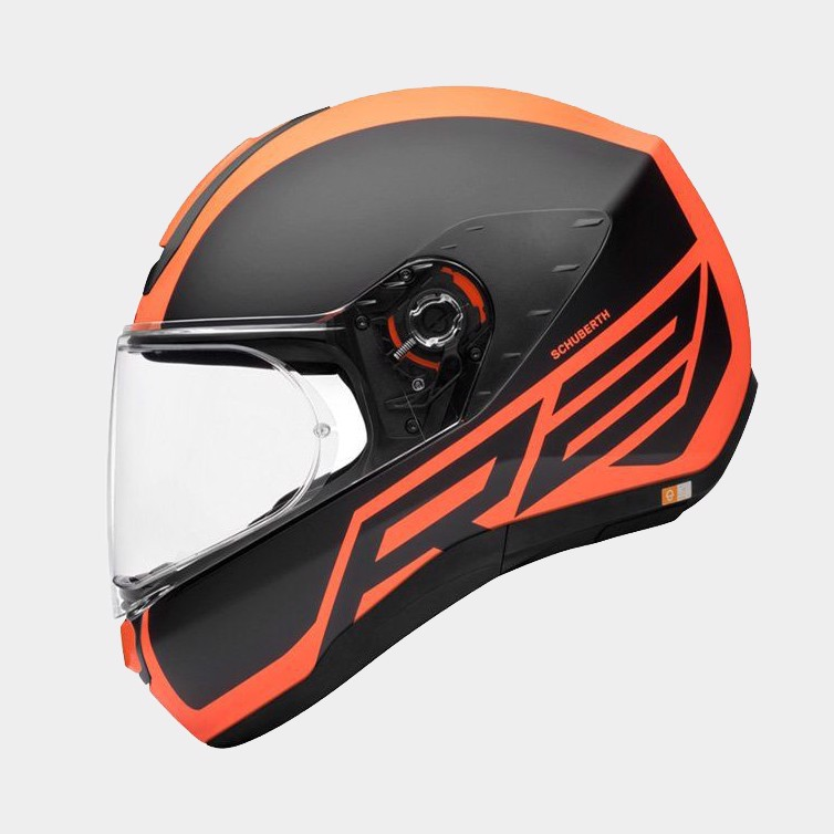 SCHUBERTH NÓN FULL-FACE R2 TRACTION ORANGE - L