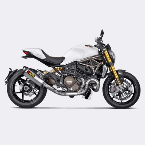 AKRAPOVIC DUCATI MONSTER 821-1200 HEADER TITAN