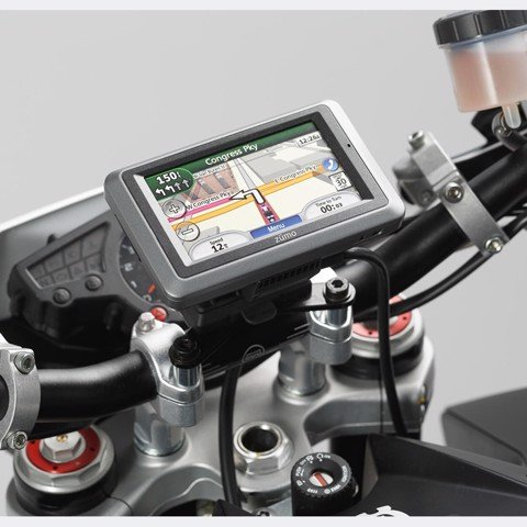 SW GPS MOUNT FOR HANDLEBAR - BLACK