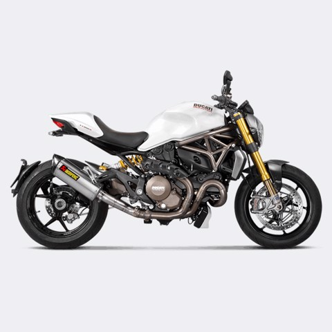 AKRAPOVIC CỔ PÔ DUCATI MONSTER 821 / 1200