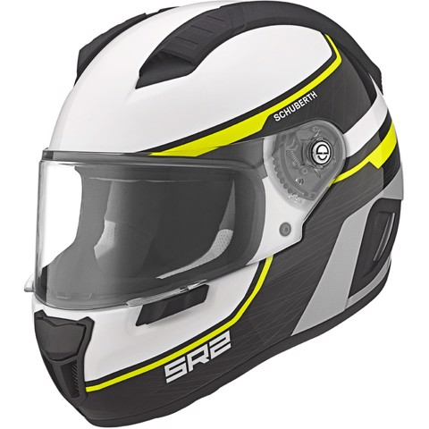 SCHUBERTH NÓN FULL-FACE SR2 LIGHTNING YELLOW - XL