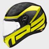 SCHUBERTH NÓN FULL-FACE R2 CARBON ECE CUBATURE YELLOW - M
