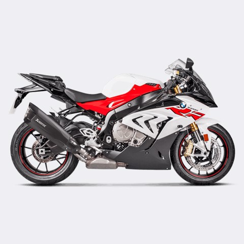 AKRAPOVIC BMW S1000 RR 2017 SLIP-ON BLACK TITAN