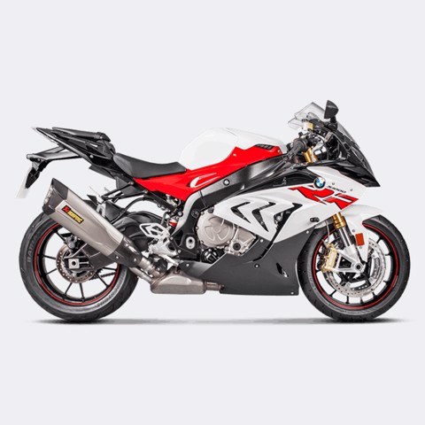 AKRAPOVIC BMW S1000 RR 2017 SLIP-ON TITAN