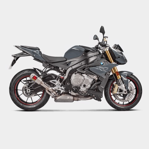 AKRAPOVIC BMW S1000R 2017 SLIP-ON TITAN