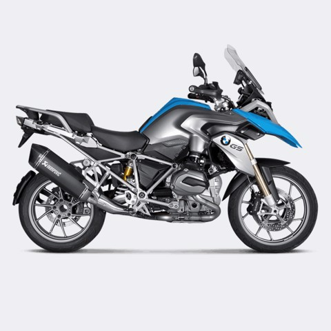 AKRAPOVIC BMW R1200 GS/GSA BLACK TITAN