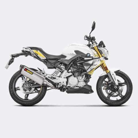 AKRAPOVIC BMW G 310 R 2017 RACING LINE