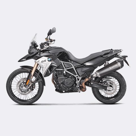 AKRAPOVIC BMW F800 GS 2017 SLIP-ON BLACK TITAN