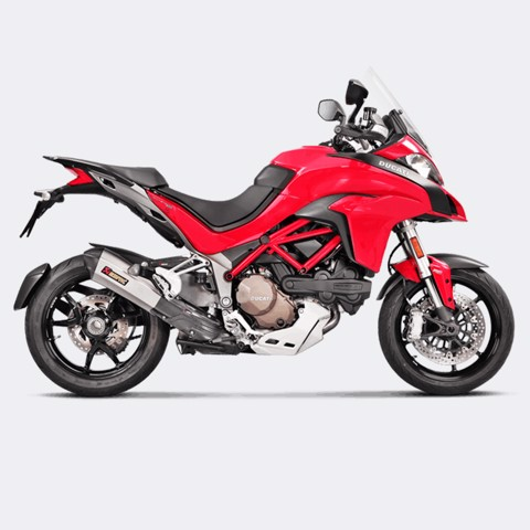 AKRAPOVIC DUCATI MULTISTRADA SLIP-ON TITAN