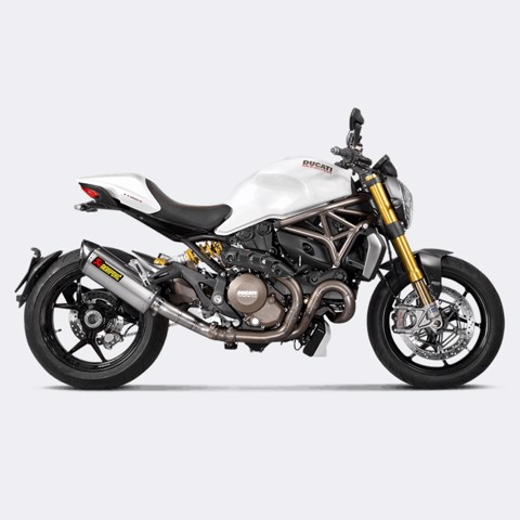 AKRAPOVIC DUCATI MONSTER 821-1200 BLACK TITAN