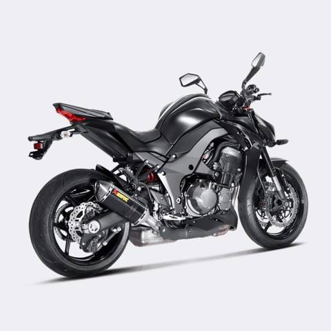 AKRAPOVIC LON PÔ SLIP-ON CARBON KAWASAKI Z1000