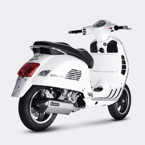 AKRAPOVIC LON PÔ VESPA GTS 300 2017 SLIP-ON STEEL