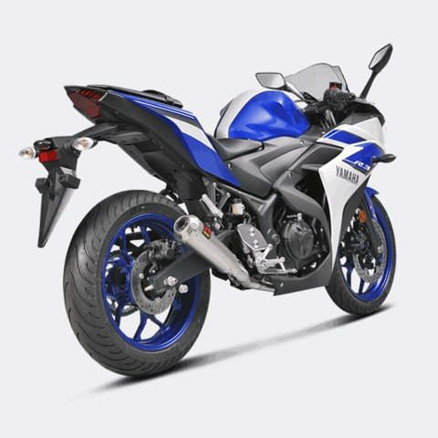AKRAPOVIC BỘ PÔ YAMAHA R3 / MT-03 RACING GP