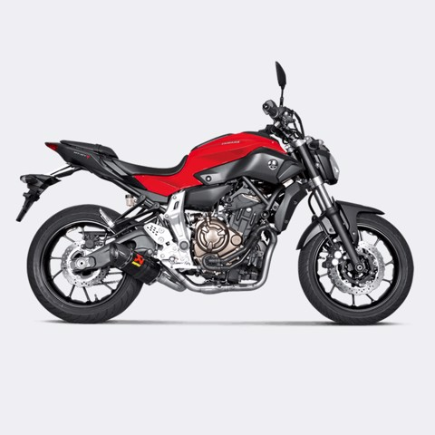 AKRAPOVIC BỘ PÔ FULL-SYSTEM RACING CARBON YAMAHA MT-07