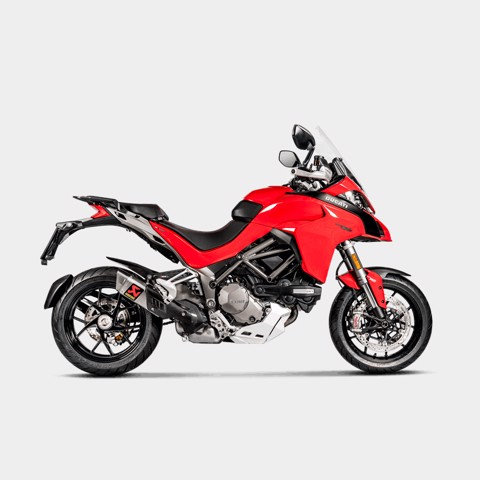 AKRAPOVIC LON PÔ SLIP-ON DUCATI MULTISTRADA 1200 S