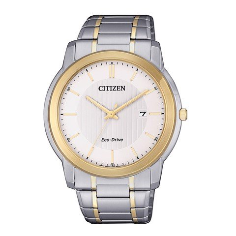 Đồng Hồ Citizen AW1216-86A Nam Eco-Drive Lịch Ngày 42mm