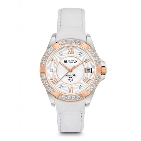 Đồng hồ Bulova 98R233 (98R233 Women's Marine Star Diamond Watch)