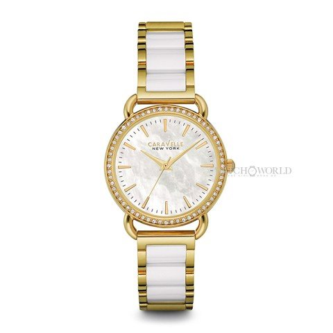 CARAVELLE NEW YORK Ceramic Casual 34mm - Ladies Watch