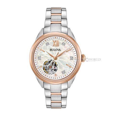 BULOVA Classic AUTOMATIC Diamond 34mm - Ladies Watch