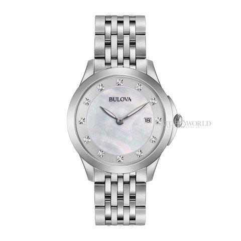 BULOVA Classic Diamond 36mm - Ladies Watch