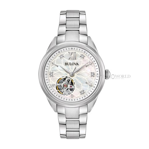BULOVA AUTOMATIC Diamond 96P181 34mm - Ladies Watch