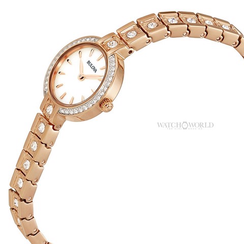 BULOVA Crystal 22mm - Ladies Watch