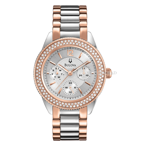BULOVA Crystal 38mm - Ladies Watch