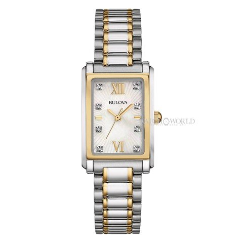 BULOVA Diamond 22x34mm - Ladies Watch