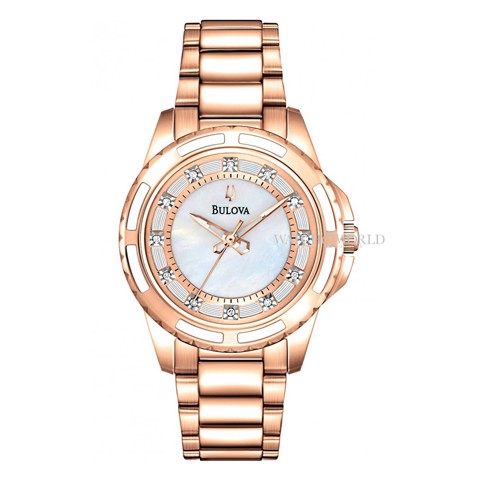 BULOVA Diamond 30mm - Ladies Watch
