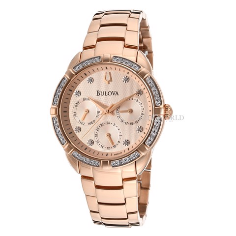 BULOVA Diamond Gallery 36mm - Ladies Watch