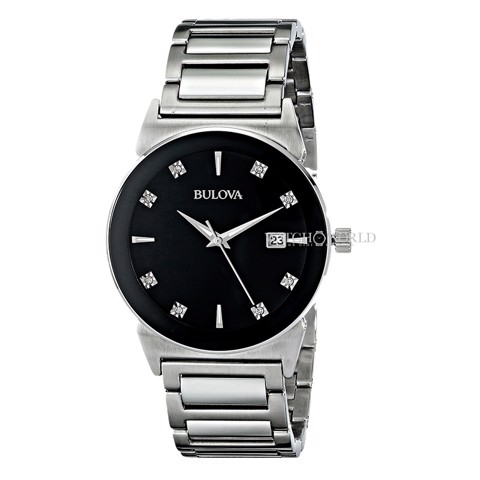 BULOVA Diamond Gallery 39mm - Mens Watch