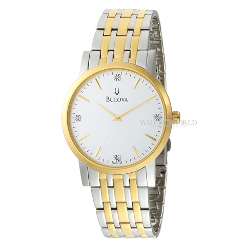 BULOVA Diamond 40mm - Mens Watch