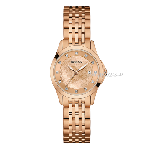 BULOVA Diamond 27mm - Ladies Watch