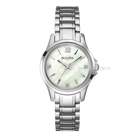 BULOVA Diamond Gallery 30mm - Ladies Watch