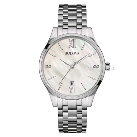 BULOVA Diamond Gallery 34mm - Ladies Watch