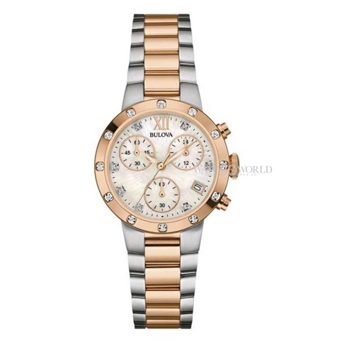 BULOVA Gallery Chronograph 30mm - Ladies Watch