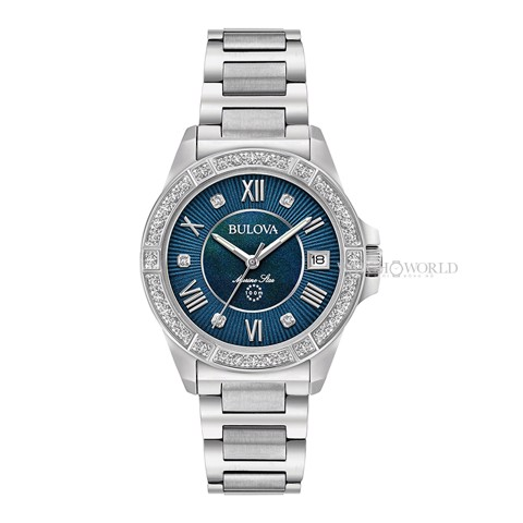 BULOVA Marine Star Diamond 32mm - Ladies Watch