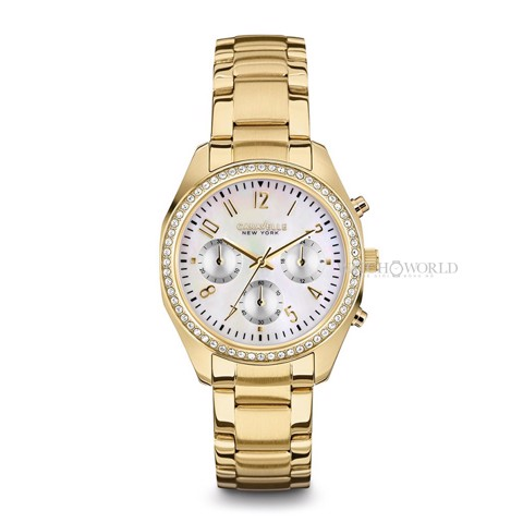 CARAVELLE NEW YORK Chronograph 36mm - Ladies Watch