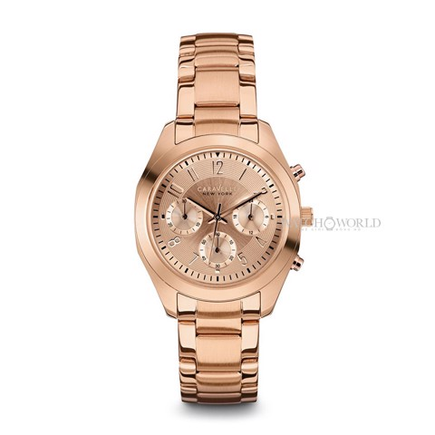 CARAVELLE NEW YORK Montre Chronographe 36mm - Ladies Watch