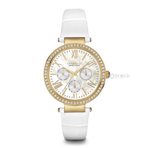 CARAVELLE NEW YORK Crystal 38mm - Ladies Watch
