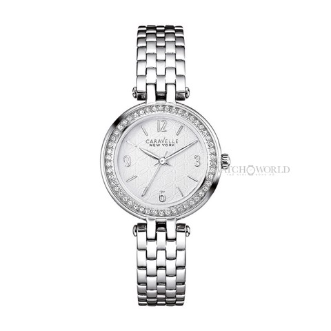 CARAVELLE NEW YORK Stainless Steel 30mm - Ladies Watch
