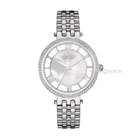 CARAVELLE NEW YORK Stainless Steel 36mm - Ladies Watch