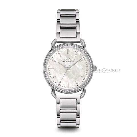 CARAVELLE NEW YORK Swarvoski Crystal 34mm - Ladies Watch