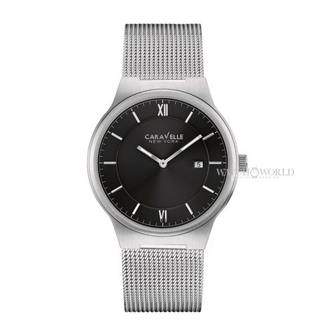 CARAVELLE NEW YORK Mesh Bracelet 40mm - Ladies Watch