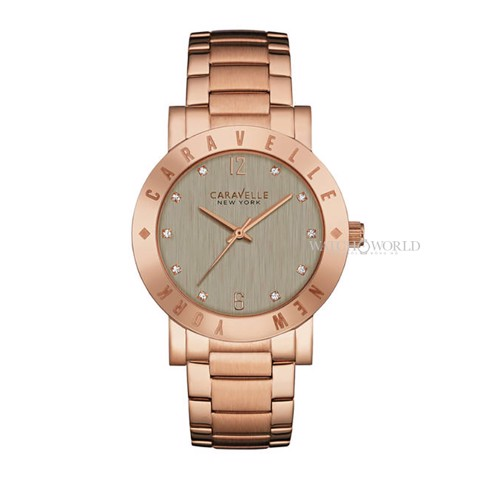 CARAVELLE NEW YORK Bracelet 38mm - Ladies Watch