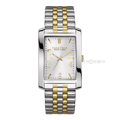 CARAVELLE NEW YORK Two Tone 44mm - Mens Watch