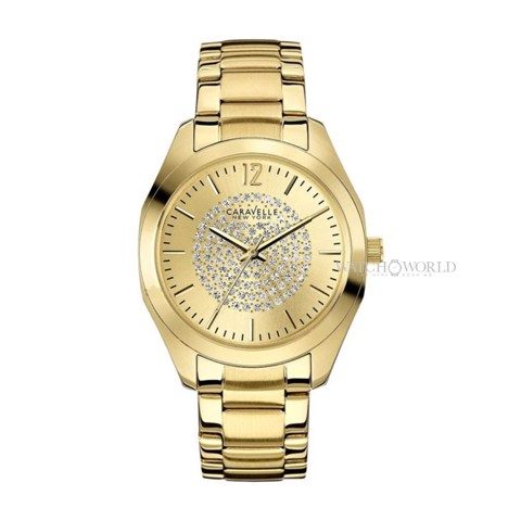 CARAVELLE NEW YORK Pave Dial 34mm - Ladies Watch
