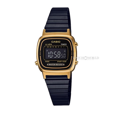 CASIO Casual Digital LA670WEGB-1BDF 30mm- Ladies Watch