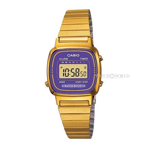 CASIO Digital Standard LA670WGA-6DF 30mm- Ladies Watch