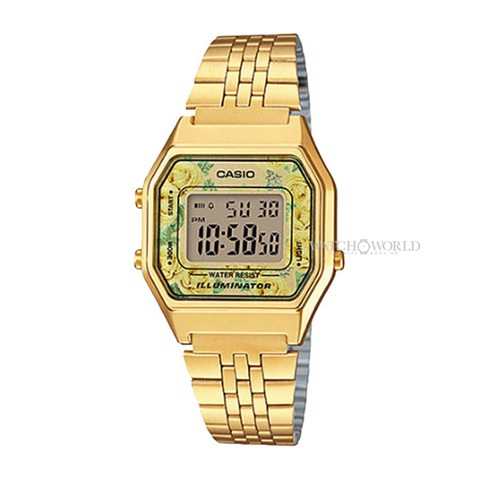 CASIO Digital Standard LA680WGA-9CDF 34x29mm- Ladies Watch